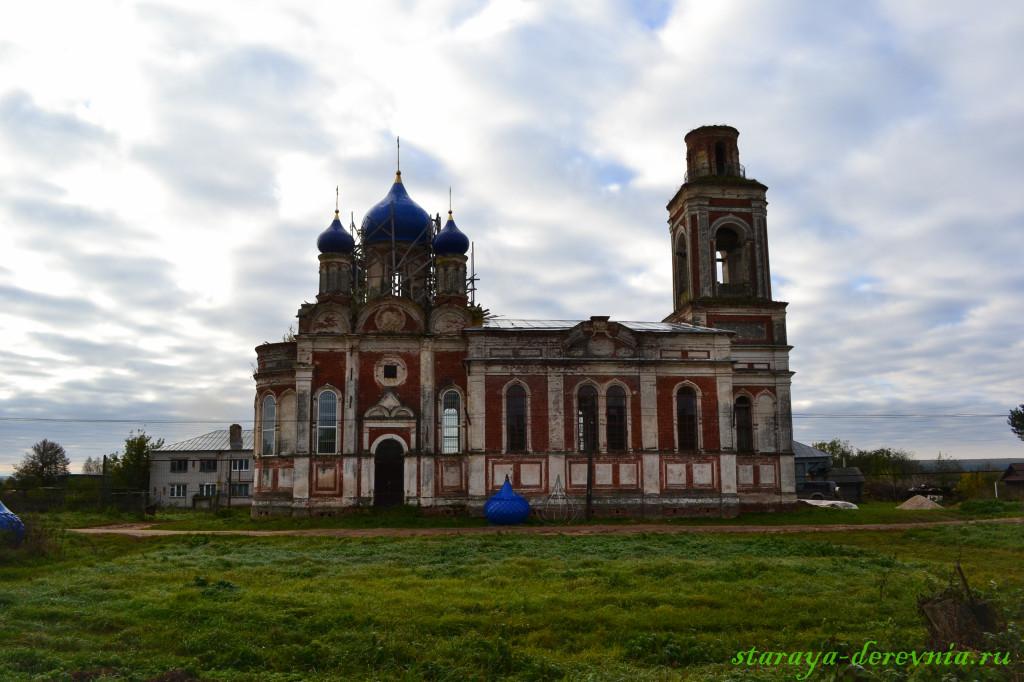 Церковь села Белозериха