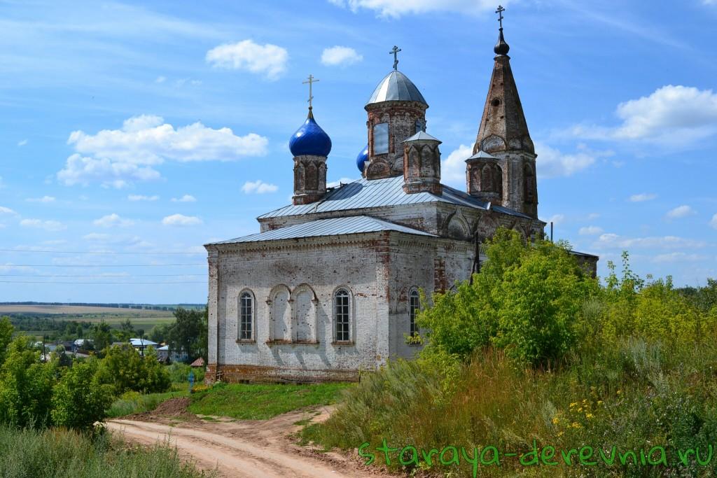Церковь села Асташиха