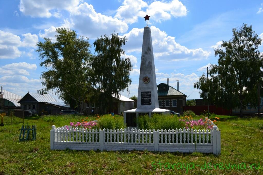 Памятник погибшим в с. Асташиха