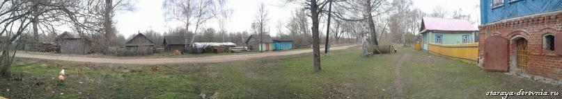 панорама  улицы Луговая