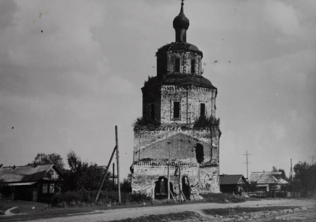 Церковь Семово Лысковский район