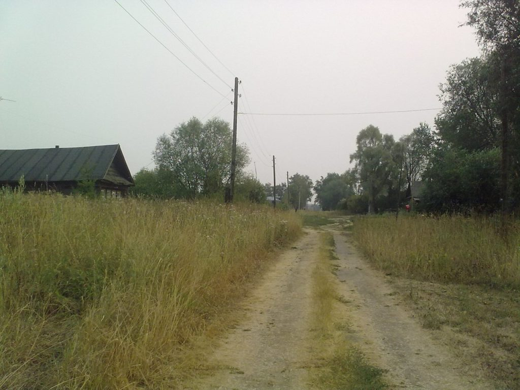 деревня Уткино Лысковский район