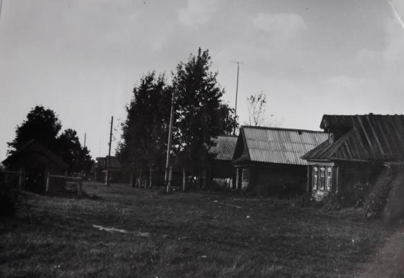 Деревня Брюханово Лысковский район