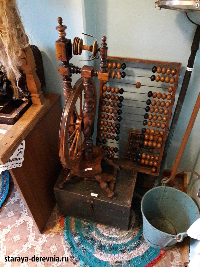 Музей поселек Нива прялка