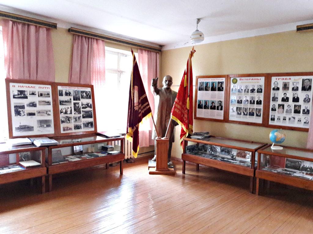 Музей поселок Нива ленин