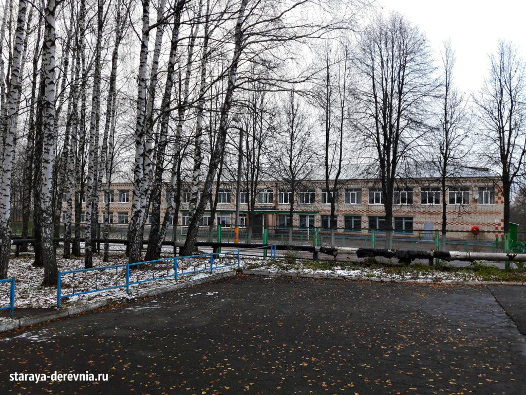 Школа поселеок Нива Лысковский район .