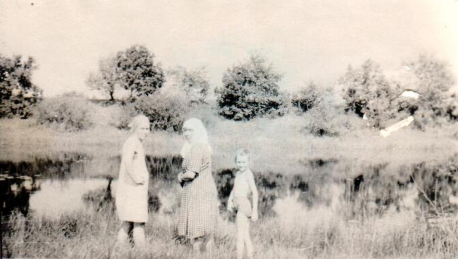 Старая река имза Лысковский район село Варганы моя Бабушка Лощилова Рима