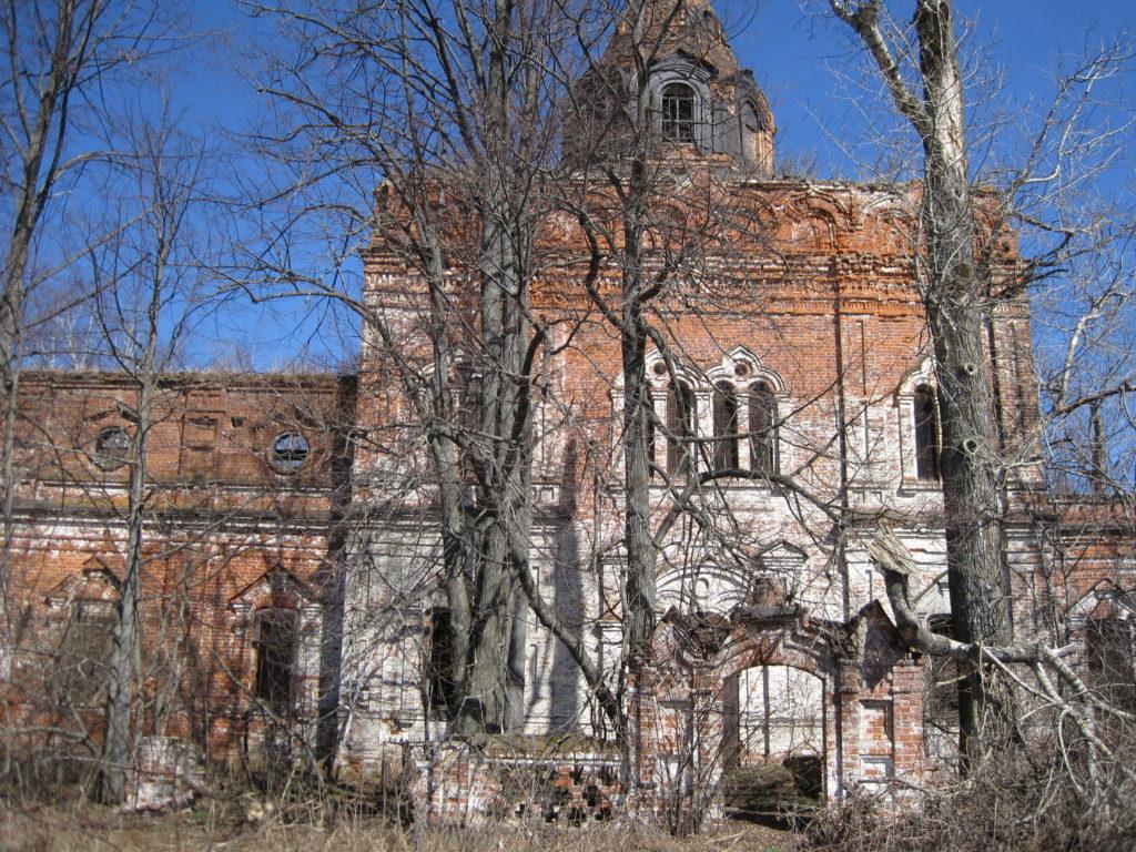 село Ступино Городецкий район церковь Пресвятой Богородицы
