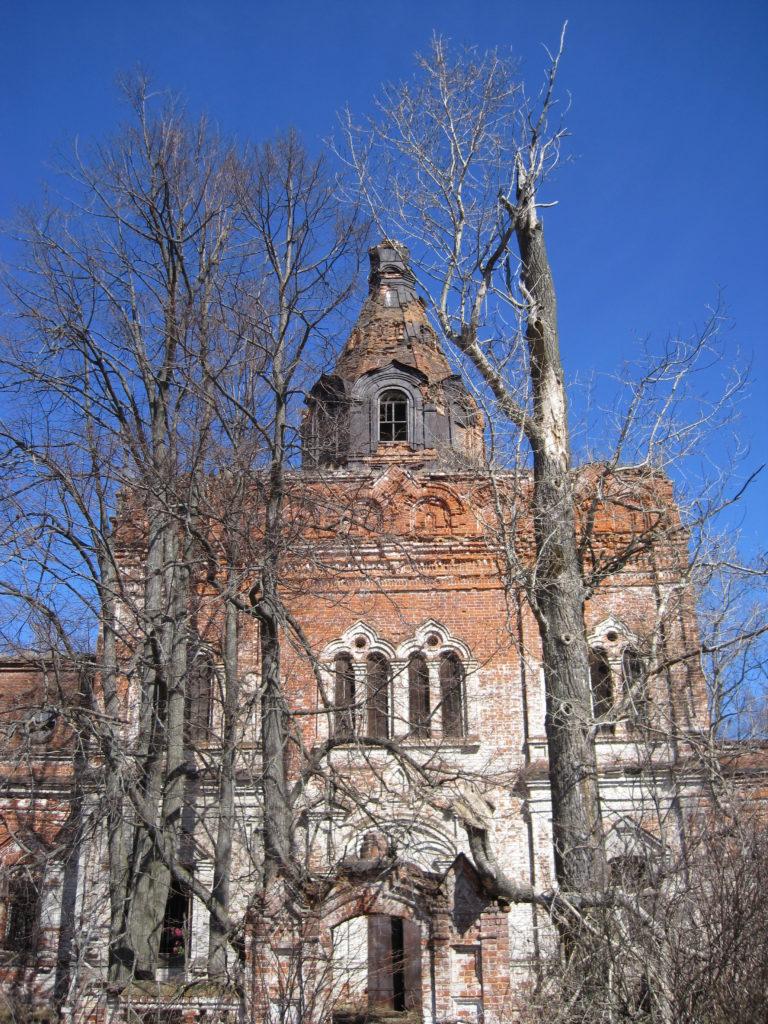 Ступино Городецкий район церковь Пресвятой Богородицы