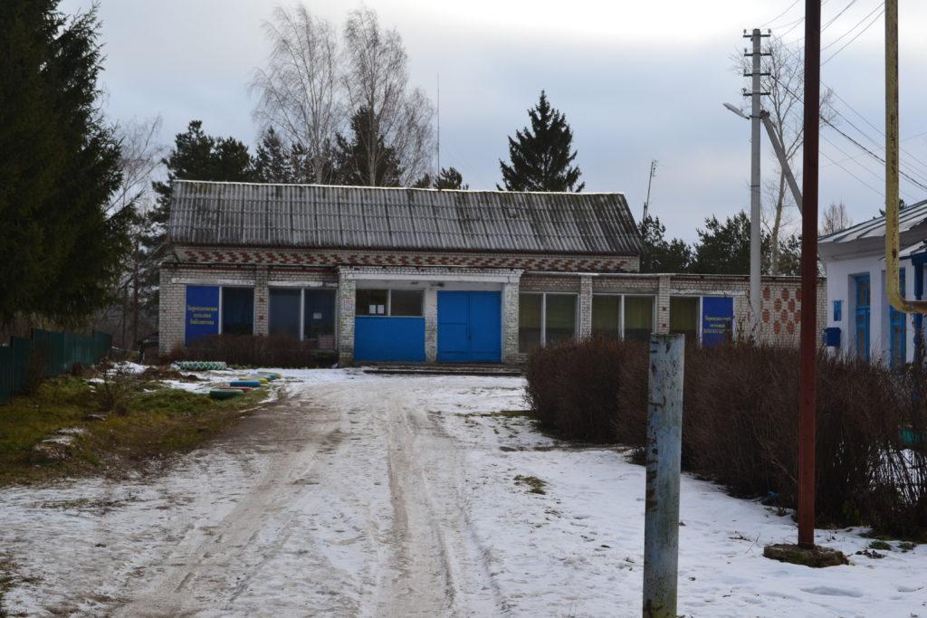 Библиотека села Берендеевка