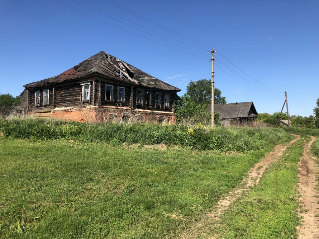 деревня Коробиха Лысковский район