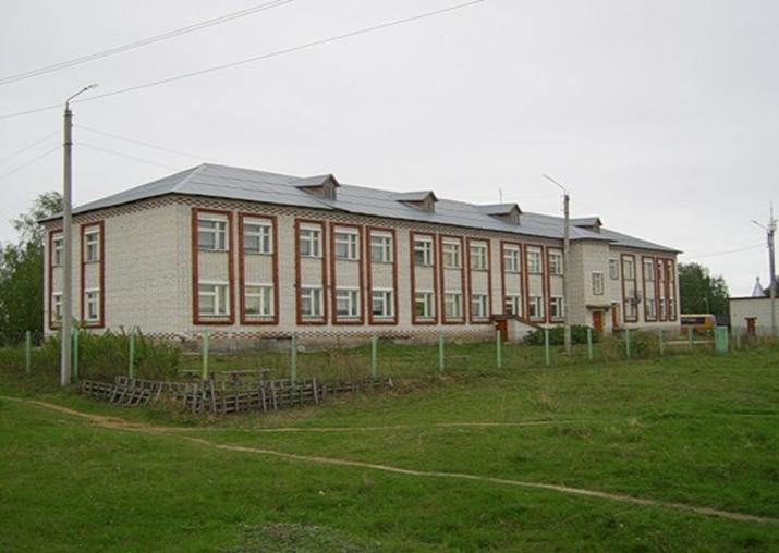 село Михайловское. Воротынский район.Школа
