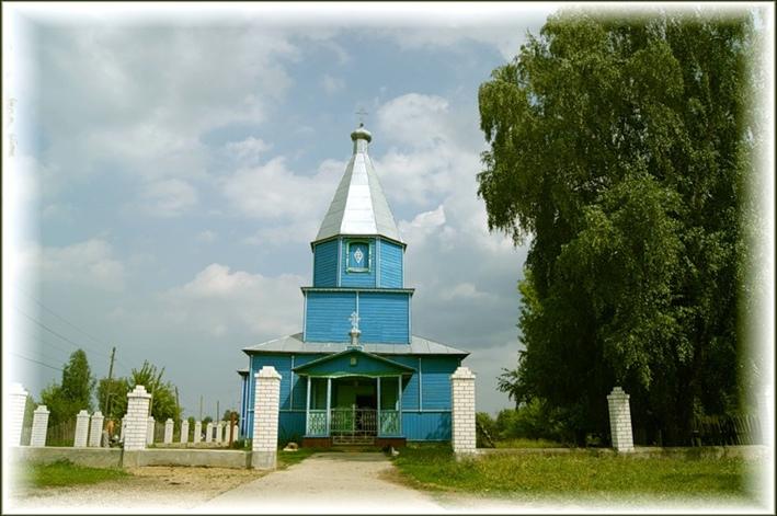 село Михайловское. Воротынский район. Храм.Церковь.