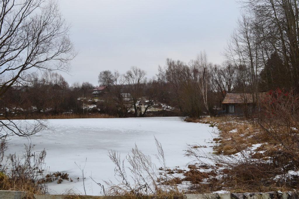 Плотинское.Озеро Лысковский район.