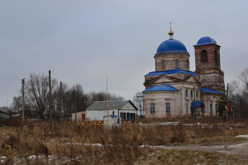 Плотинское.Церковь. Лысковский район.2015