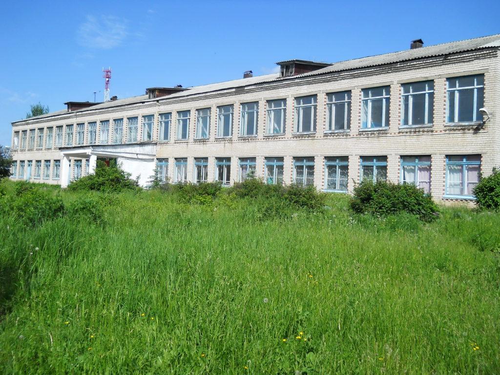 село Красный оселок. Лысковскй район.Школа