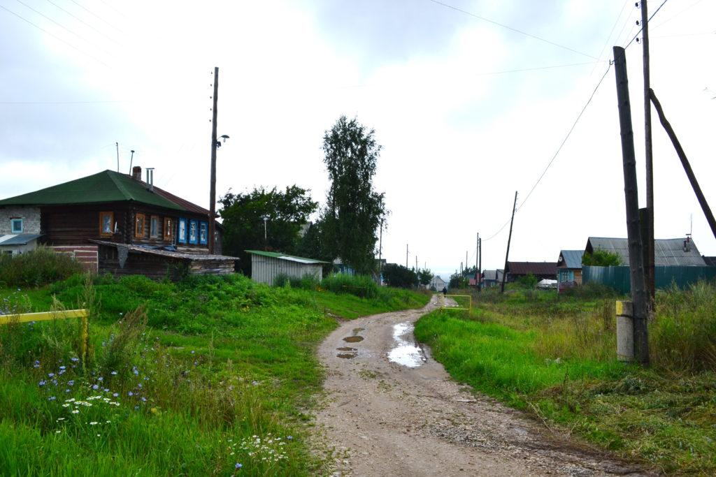 село Красный оселок. Лысковскй район.