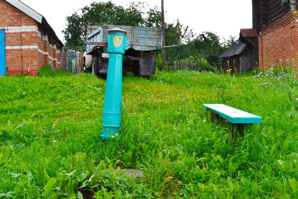 село Красный оселок. Лысковскй район.Колонка