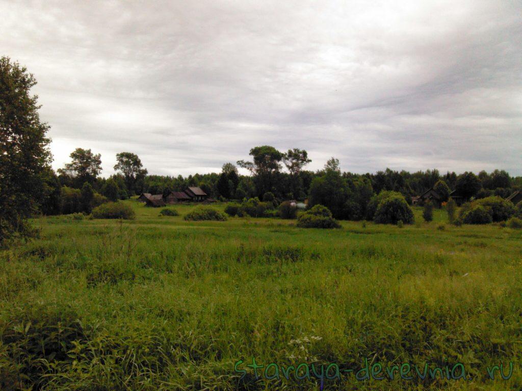 деревня Куприно.