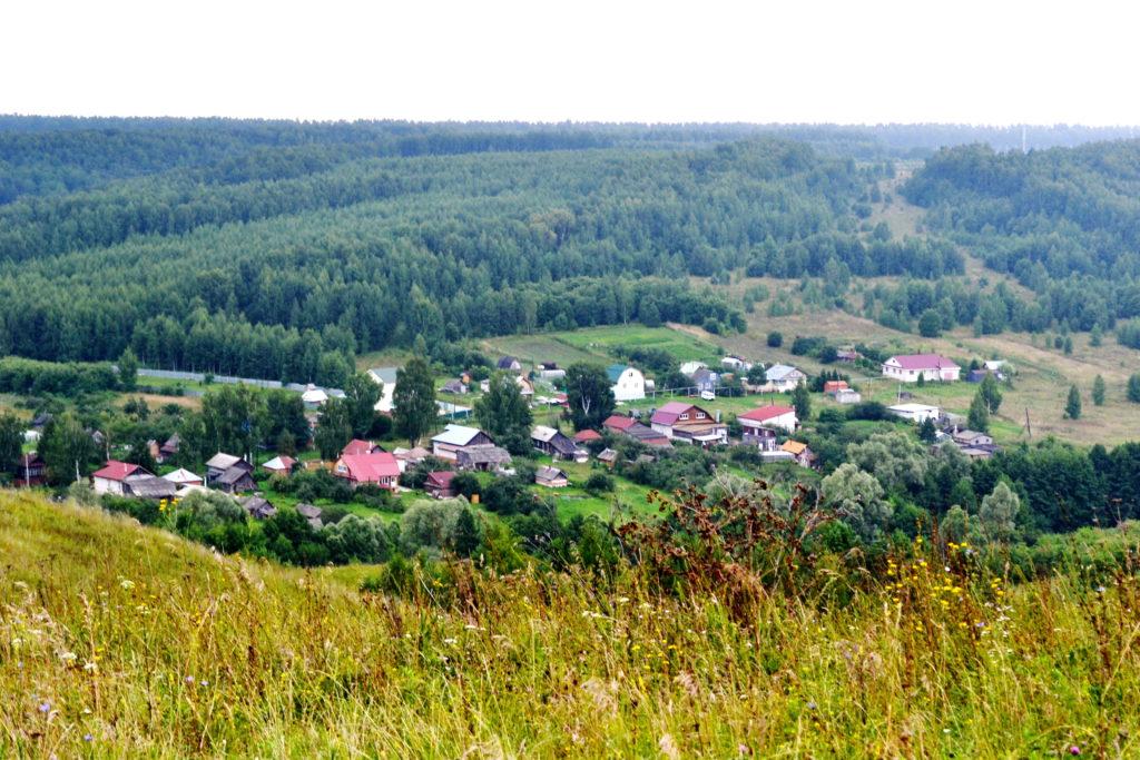 деревня Очаиха.Лысковский район