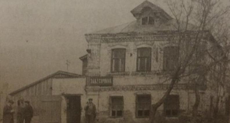Закусочная 1980г в селе Высокий Оселок.