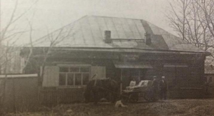 Магазин «Промышленные товары» 1980 г. Село Вышний Оселок.