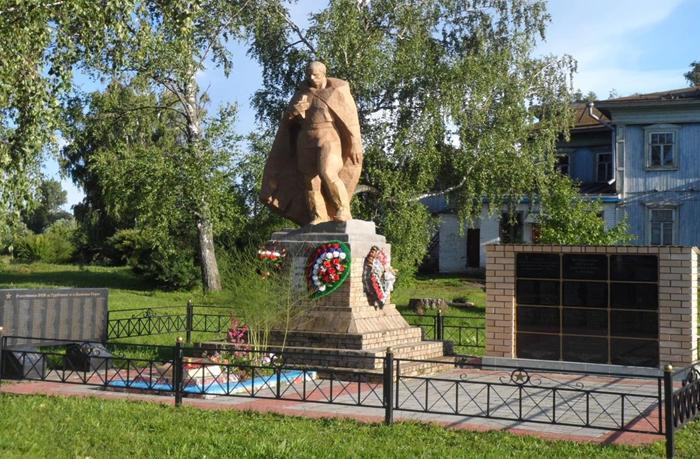 Памятник в деревни Турбанка 2016 год.