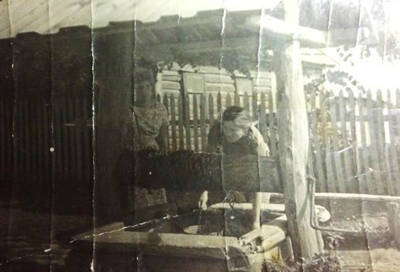 Старый колодец на улице Новая Линия,действующий и по сей день.
