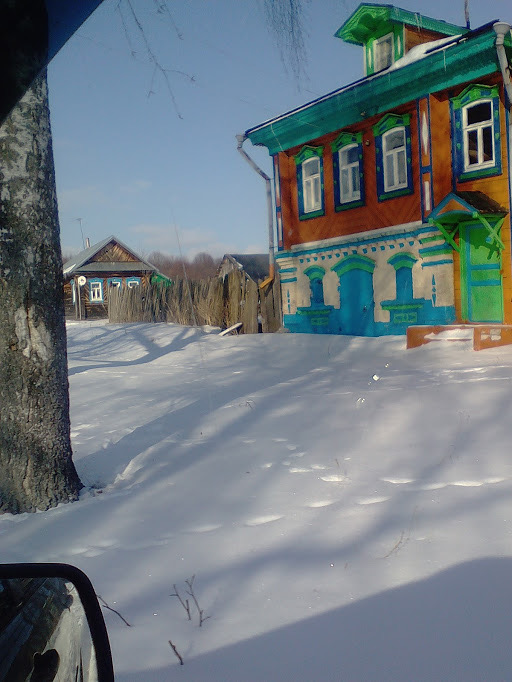 деревня Баранниково дом