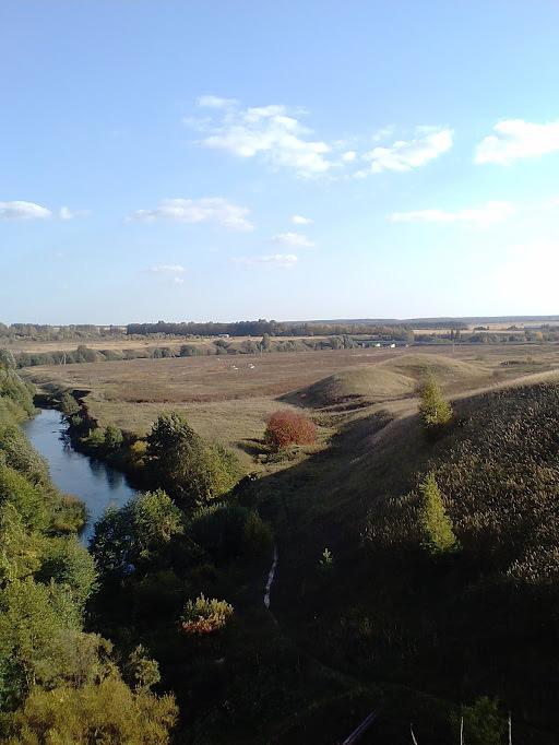 деревня Баранниково природа осень