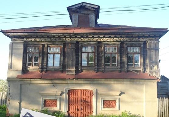 дом Петрухиных, построенный в 1857 году