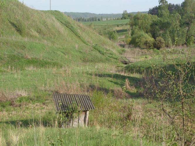 попов колодец. село Высокий Оселок.