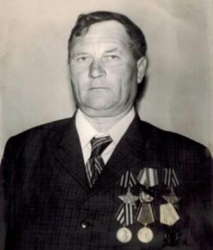 Выборнов В.М.- ветеран Великой Отечественной войны