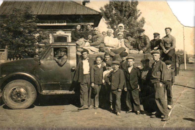Колхоз село Вазьянка.