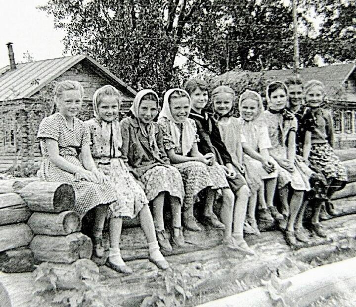 Островское. Княгинеский район. Дети 60-х